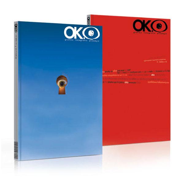 OKO - grafika, fotografia, przemysł - czasopismo skupiające się naaktualnej sztuce użytkowej, grafice, reklamie.