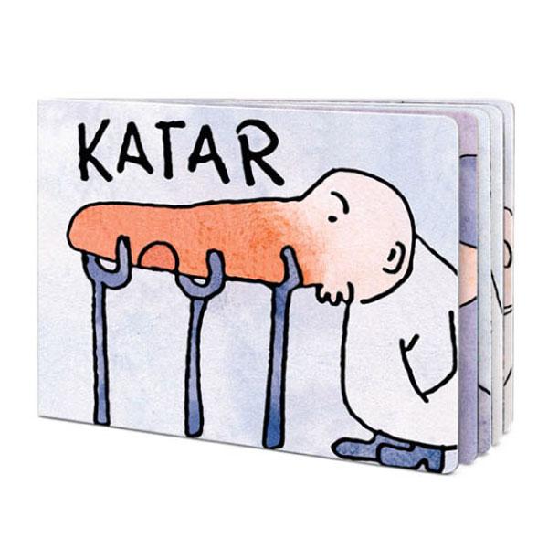 Katar - bogato ilustrowana książeczka dladzieci.